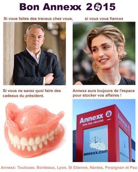 Voeux Annexx 2015