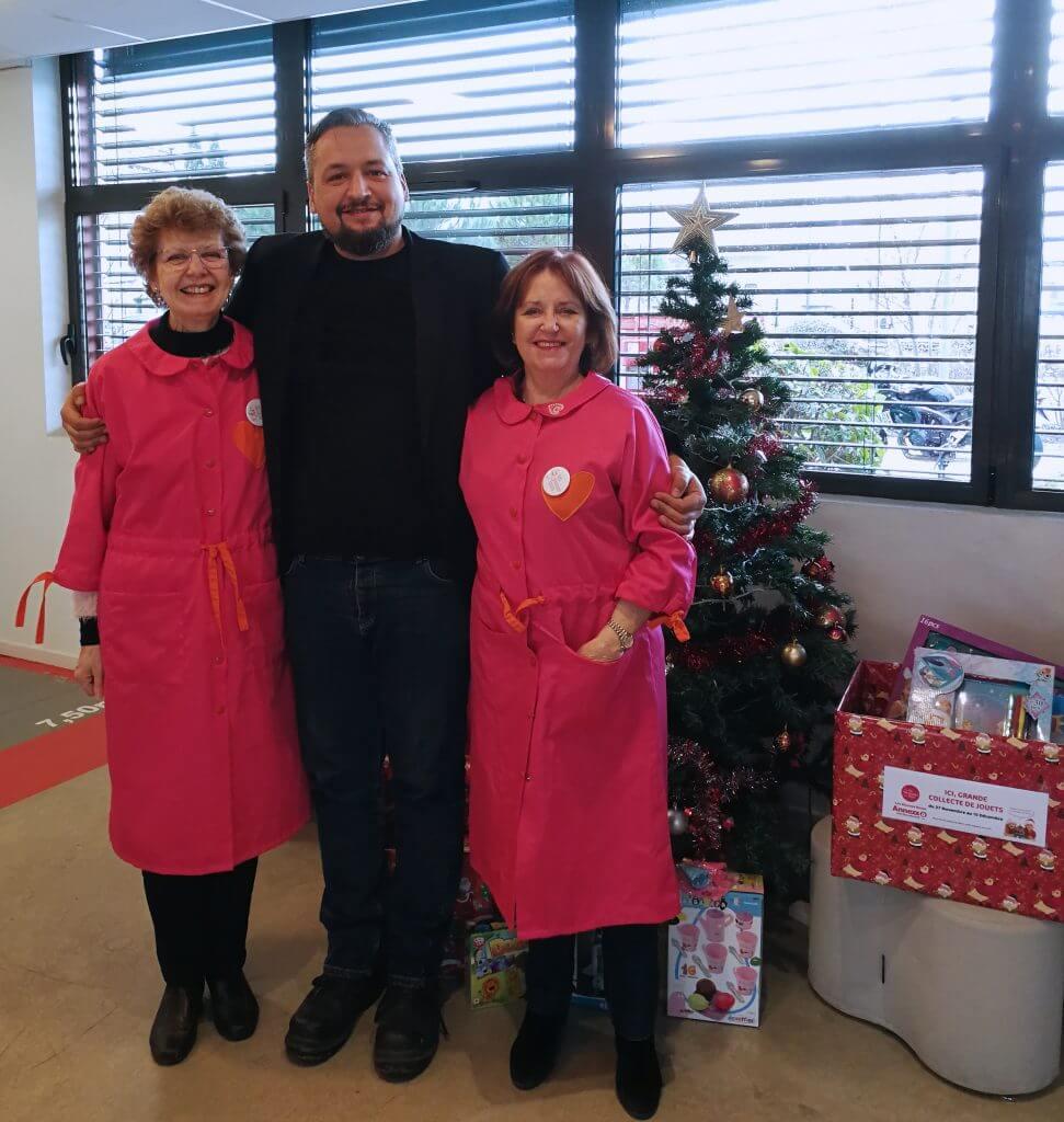 collecte nationale de jouets les blouses roses toulouse