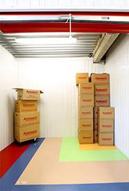 stocker ses cartons de déménagement