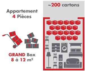box 8 à 12m²