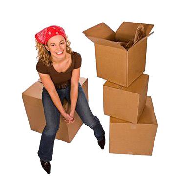 matériel et cartons de déménagement